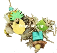PINEAPPLE Perch Toy Ring