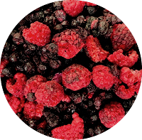 Freeze Dried Organic Raspberries & Blueberry Mix