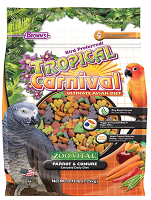 Tropical Carnival® ZOO•VITAL® Rice-Based Parrot & Conure Pellets 2.7 lbs