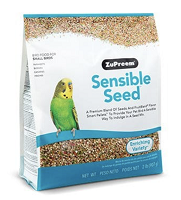 Zupreem Sensible Seed Small 2 lbs Parakeet, Budgie, Parrotlet