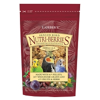 Senior Nutri-berries Cockatiel and Parakeet 10 oz