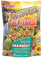 F.M. Browns Tropical Carnival Gourmet Parakeet Food 2 lb