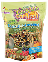 F.M. Browns Tropical Carnival® Natural Cockatiel-Lovebird Fortified Daily Diet 2.5 lbs