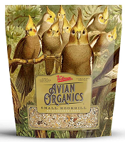 Volkman Avian Organics Seed Mix Small Hookbill No Sunflower