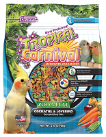 Tropical Carnival® ZOO•VITAL® Rice-Based Cockatiel & Lovebird Pellets 2 lb