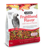 Zupreem Fruit Blend Medium Large Parrots Parrots & Conures 3.5 lbs