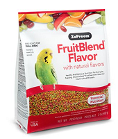 Zupreem FruitBlend® Flavor with Natural Flavors Small Bird 2 lb Parakeets, Parrotlets & Budgies