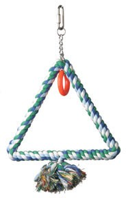 Triangle Cotton Rope Ring Swing Small 6""