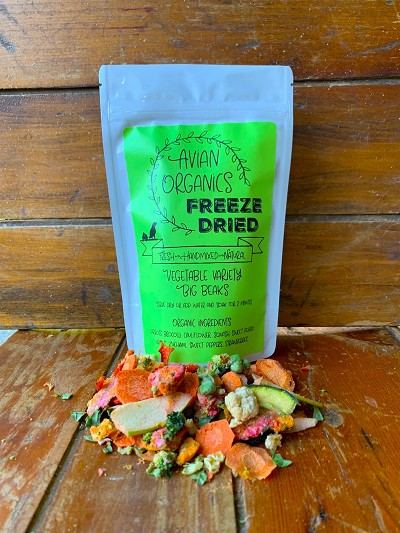 Freeze Dried Vegetable Variety for Big Beaks