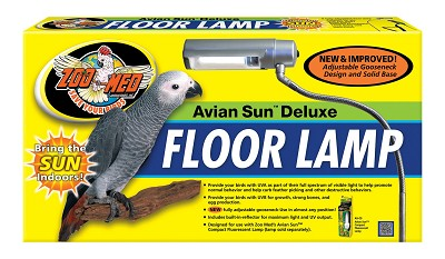 Avian Sun Deluxe Floor Lamp Lighting For Parrots And