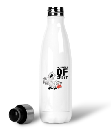 50 Shades of GREYT 17 oz Stainless Steel Water Bottle