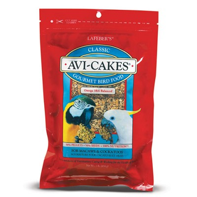 Avi-Cakes for Large Sized Parrots 1lb