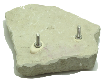 Flagstone Cage Top Perch 7""