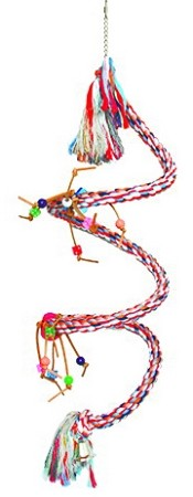 Hanging Spiral Rope Swing Large