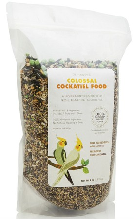 Dr. Harvey's Colossal Cockatiel Blend 2 lbs