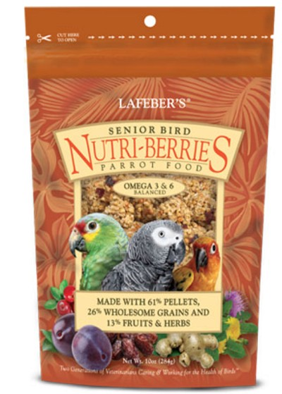 Senior Nutri-berries Parrot 10 oz