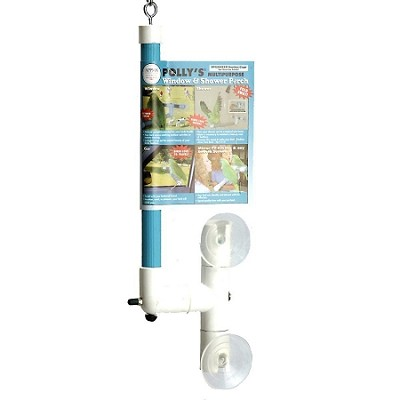 Polly's Pet Products Shower and Window Perch Small
