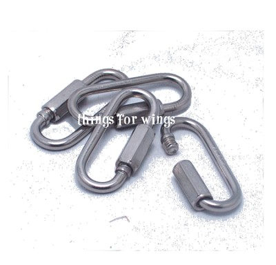 Stainless Steel Wide Jaw Quick Link